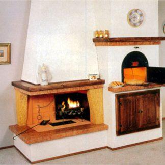 Semineu rustic cuptor 2