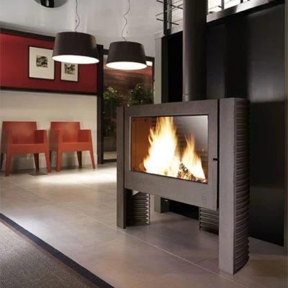 Soba moderna pe lemne Invicta Itaya