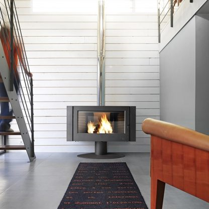 Soba pe lemne moderna Invicta Antaya