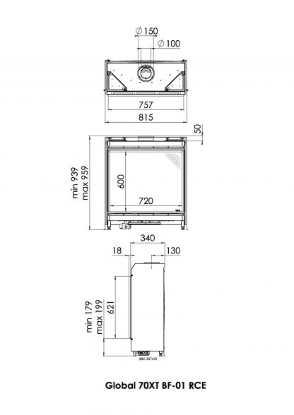 Schita tehnica Global 70XT BF 01 pdf